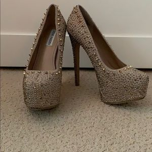 Steve Madden studded spiked heels